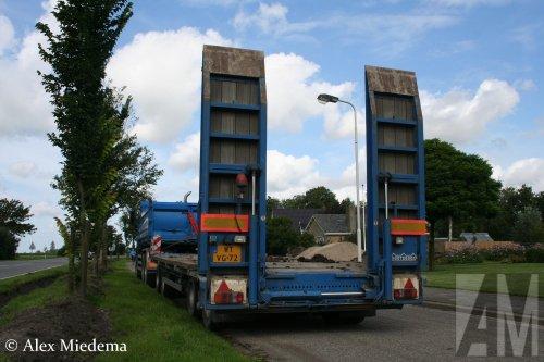 Nooteboom aanhangwagen, foto van Alex Miedema
