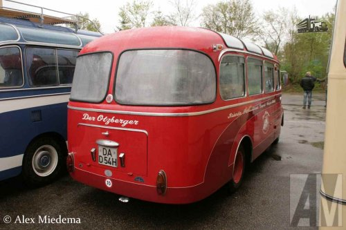 Menarini bus, foto van Alex Miedema