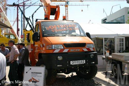SCAM 4x4 (vrachtwagen), foto van Alex Miedema