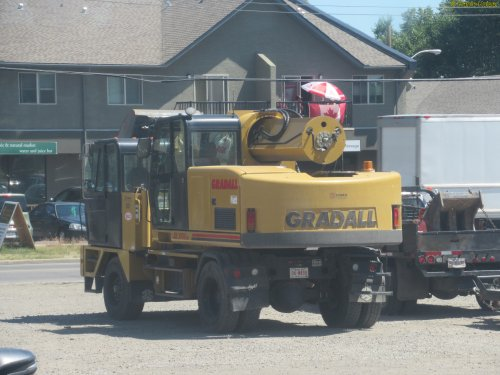 Gradall XL3100 IV (bouwmachine) van oldtimergek
