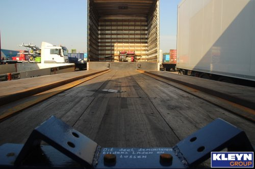 Cargo Van oplegger, foto van Katy Kleyn