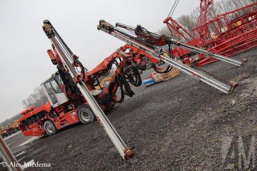 Sandvik drill (bouwmachine), foto van Alex Miedema