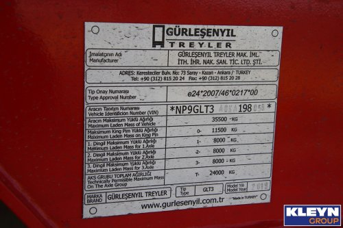 Gürlesenyil oplegger (getrokken materieel), foto van Katy Kleyn