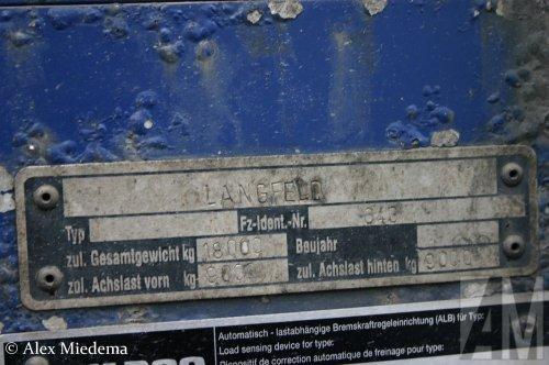 Langfeld aanhangwagen (getrokken materieel), foto van Alex Miedema
