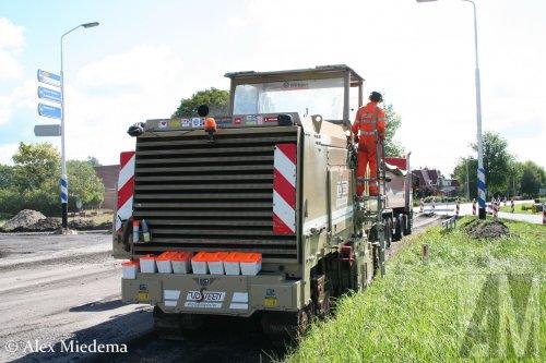 Wirtgen freesmachine (vrachtwagen), foto van Alex Miedema