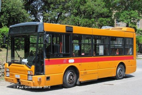 Onbekend bus, foto van Paul Gravemaker
