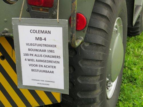 Coleman MB-4, foto van oldtimergek