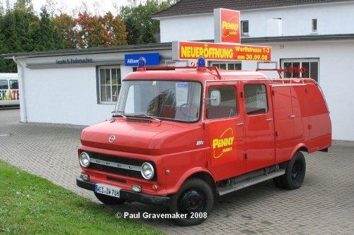 Opel Blitz, foto van Paul Gravemaker