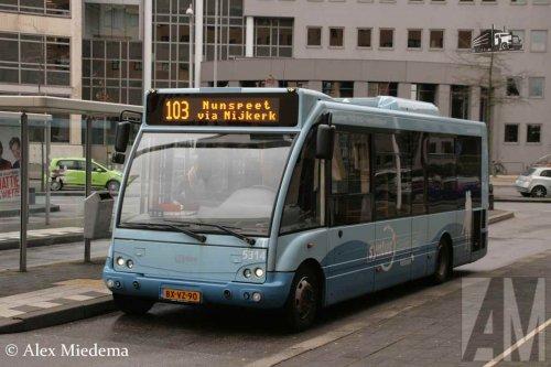 Optare lijnbus, foto van Alex Miedema
