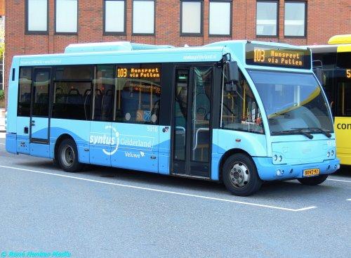 Optare lijnbus, foto van René