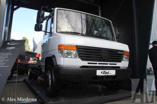 Paul e-Vario (vrachtwagen), foto van Alex Miedema