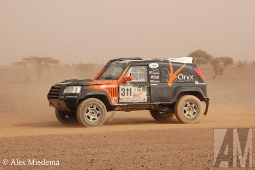 RallyRaid UK Desert Warrior, foto van Alex Miedema