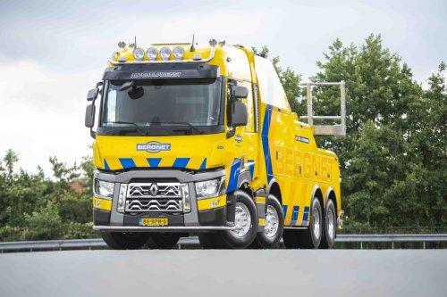 Renault C-serie, foto van Truckfan Nieuwsposter