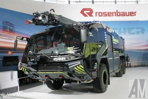 Rosenbauer Panther, foto van Alex Miedema