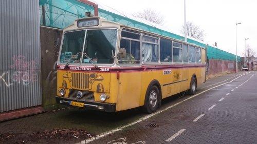 Saurer bus, foto van dickt