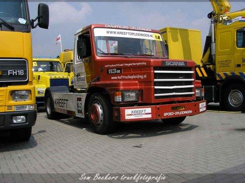 Scania T113, foto van sem-beekers
