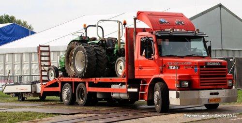 Scania T113, foto van WO 562 Driver