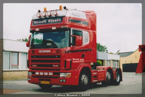 Scania 164, foto van Hans Kramer