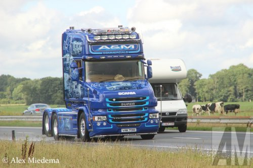 Scania T730, foto van Alex Miedema