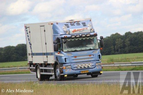 Scania P230, foto van Alex Miedema