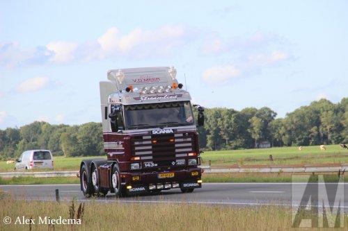 Scania 143 Streamline (vrachtwagen), foto van Alex Miedema