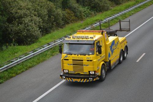 Scania 143 van truckspotterhgk