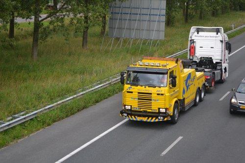Scania 143, foto van truckspotterhgk