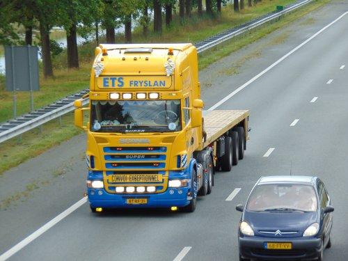 Scania R-serie, foto van Heine Kootstra