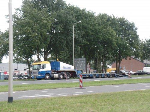 Scania P450, foto van dickt