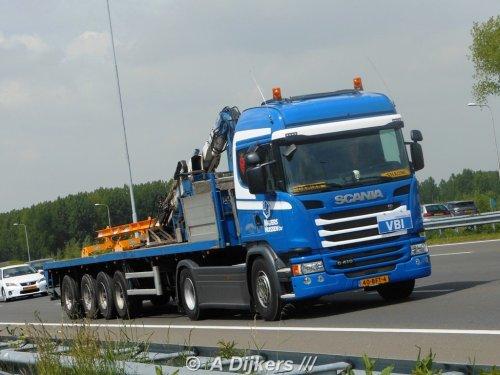 Scania G410 van arjan-dijkers