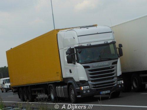 Scania R450 van arjan-dijkers