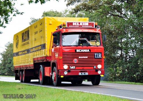 Scania 141 van bernard-dijkhuizen