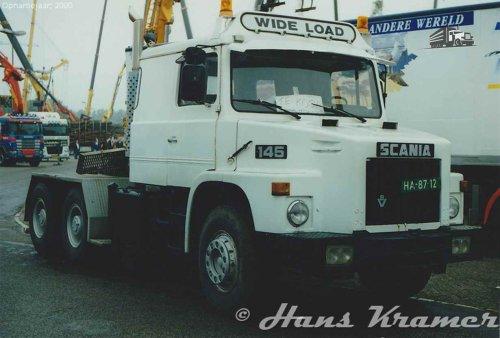 Scania 145, foto van Hans Kramer