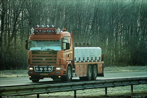 Scania 124 van Bram van der Leij