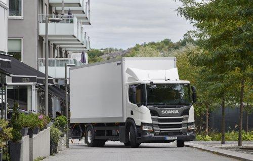 Scania P220 (vrachtwagen) van Alex Miedema