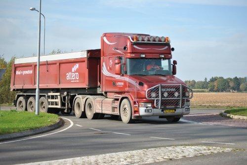 Scania T144, foto van Lucas Ensing