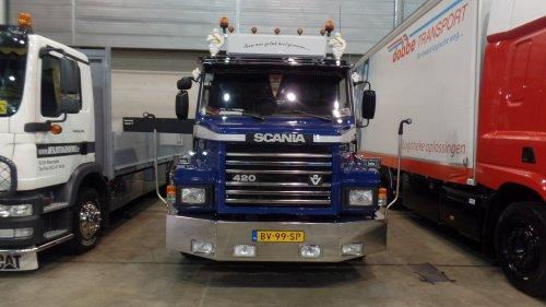 Scania T420, foto van dickt