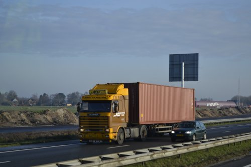 Scania 143 Streamline van truckspotter hgk