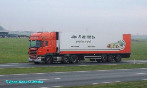 Scania Vrachtwagen van René