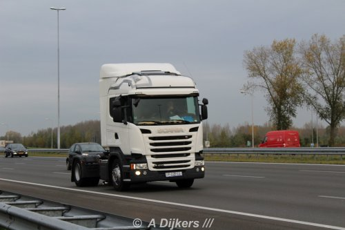 Scania R410 van arjan-dijkers