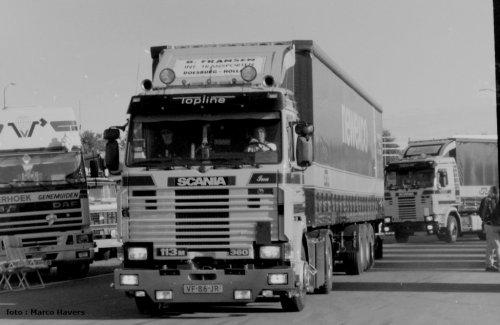 Scania 113 van marco-havers