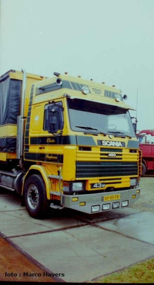 Scania 143 van marco-havers