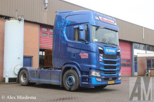Scania S450 (vrachtwagen), foto van Alex Miedema
