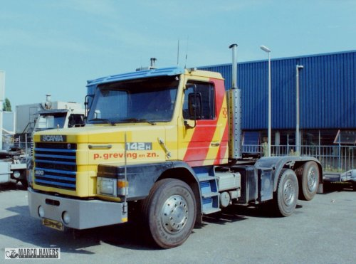 Scania T142, foto van marco-havers