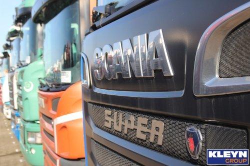 Scania logo, foto van Katy Kleyn
