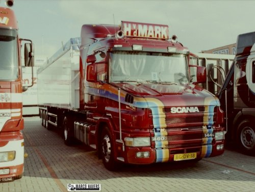 Scania T144, foto van marco-havers
