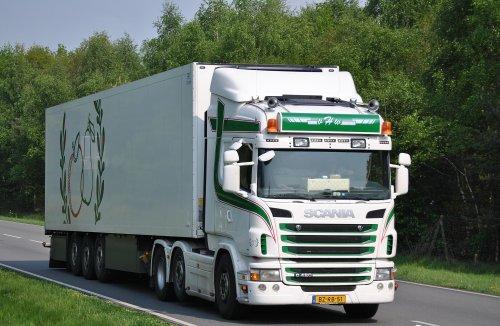 Scania G420, foto van Lucas Ensing