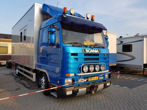 Scania 113 Streamline (vrachtwagen), foto van Marcel Ruiterveld