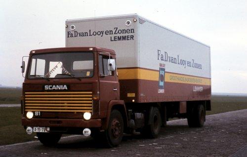 Scania 81, foto van Jan Veldstra