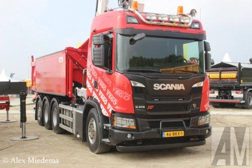 Scania G410 XT, foto van Alex Miedema
